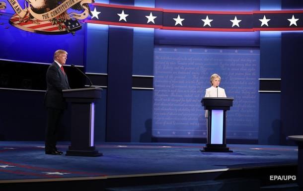 Третьи теледебаты в США бьют рекорды по просмотрам