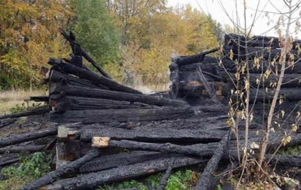 В Киеве горел музей  Пирогово