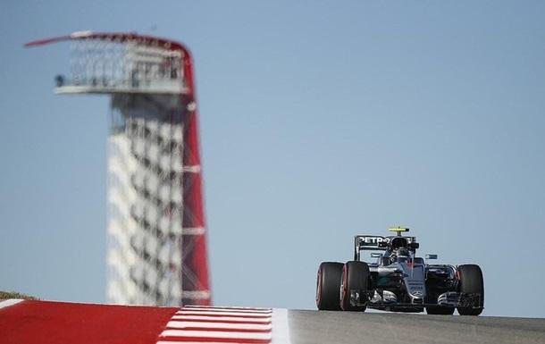 Формула-1. Гран-при США. Росберг — быстрейший во второй тренировке