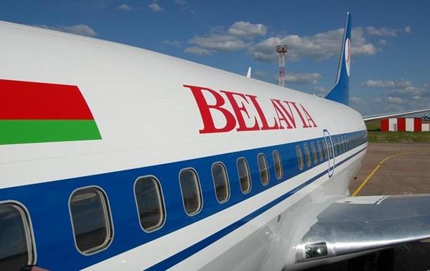 Белорусский лайнер вернули в Киев по требованию СБУ
