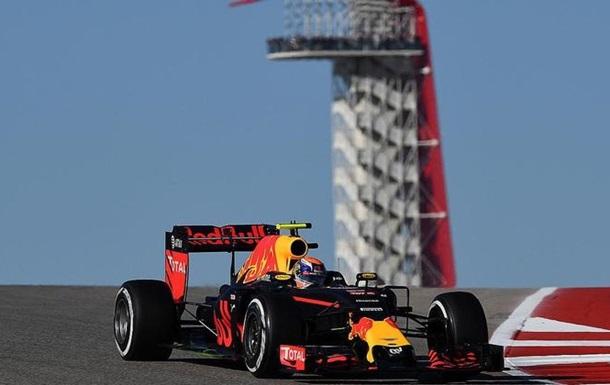 Формула-1. Гран-при США. Ферстаппен — лучший в третьей тренировке