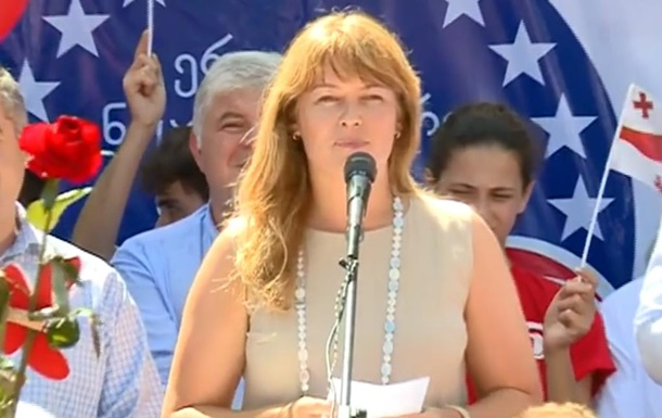 Супруга Саакашвили проиграла выборы в парламент Грузии