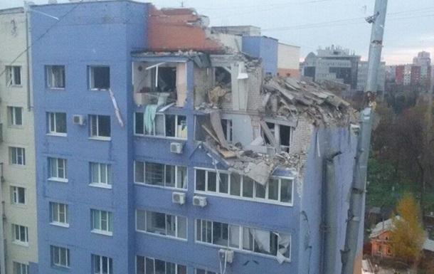 Появилось видео момента взрыва дома в Рязани