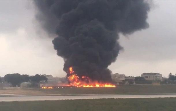 На Мальте разбился самолет, есть жертвы