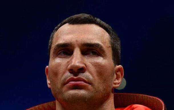 Кличко получил травму и не выступит в этом году