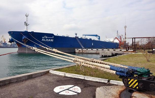 В Одессу поступила азербайджанская нефть для Беларуси