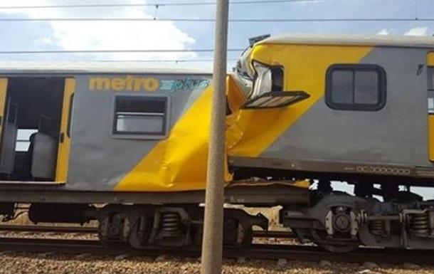 В ЮАР столкнулись поезда: есть жертвы