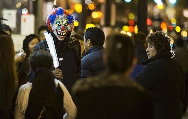 В Австрии  злые клоуны  ранили несколько человек