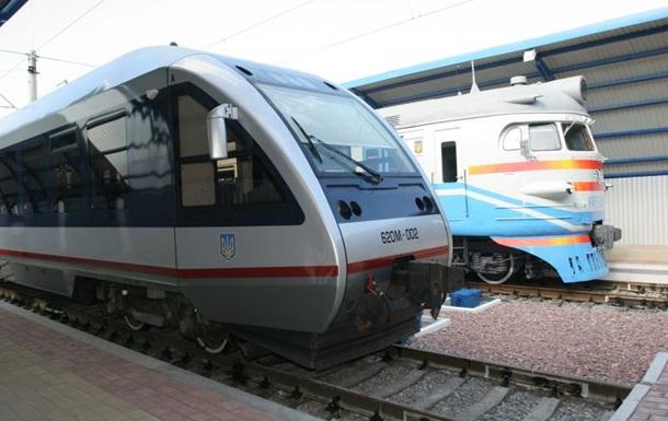 Интерсити запускает новый поезд Киев - Кривой Рог