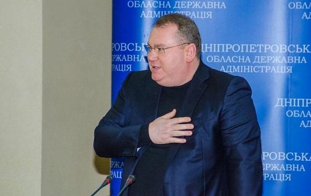 В Днепре губернатор задекларировал миллионы гривен на счетах