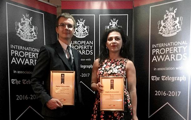 Украинский застройщик завоевал престижную европейскую премию