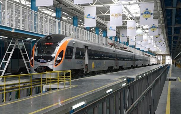 Интерсити запускает новый поезд Киев - Львов