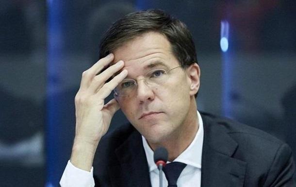 Премьер Нидерландов призвал парламент поддержать ассоциацию Украина-ЕС