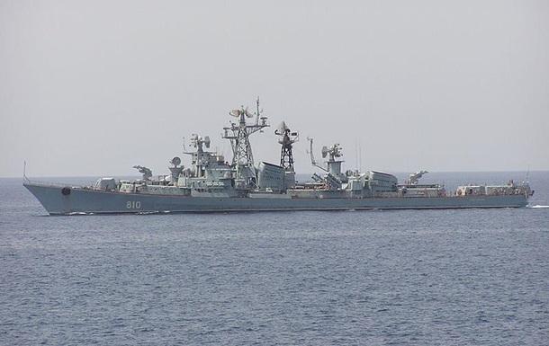 Россия отправила еще один боевой корабль в Сирию