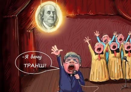 Петро Порошенко і К у творчості Георгія Ключника