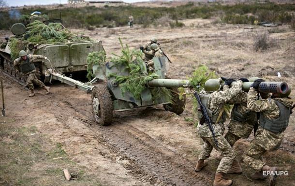 Сутки в зоне АТО: один военный погиб, семь ранены