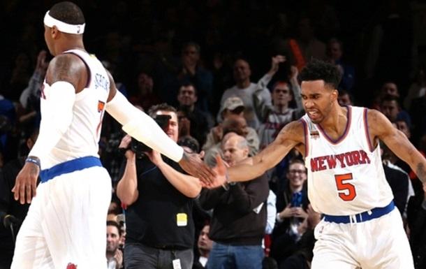 НБА. Победы Кливленда и Нью-Йорка, Индиана уступает в Чикаго