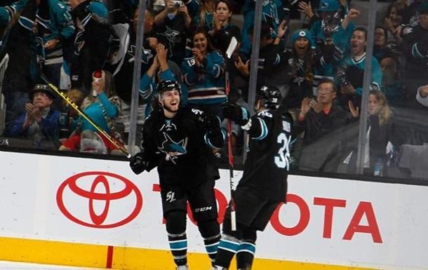 НХЛ. Победы Монреаля и Сан-Хосе, Детройт прервал победную серию