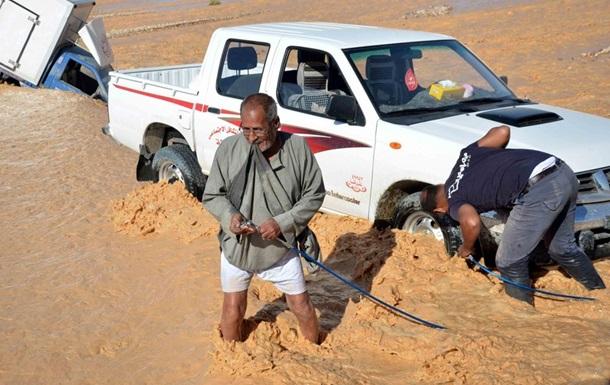 Жертвами наводнения в Египте стали более 20 человек