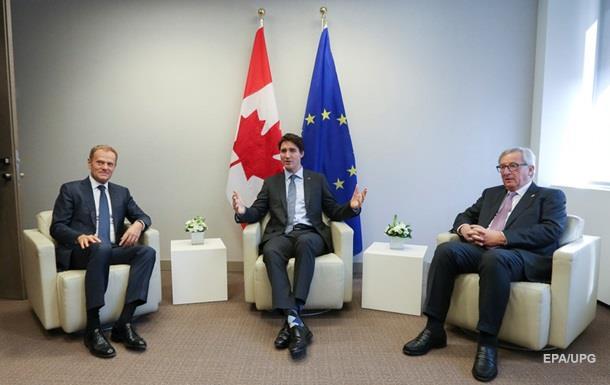 ЕС и Канада заявили о поддержке Украины