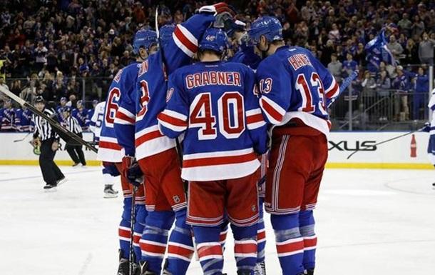 НХЛ: Рейнджерс громит Тампу, поражения Детройта и Эдмонтона