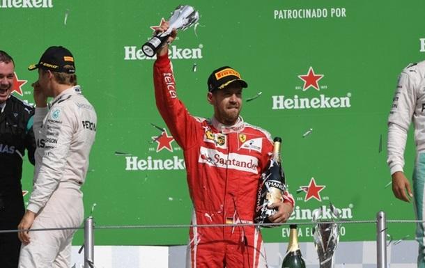 Формула-1. Гран-при Мексики. Феттеля оштрафовали и лишили третьего места