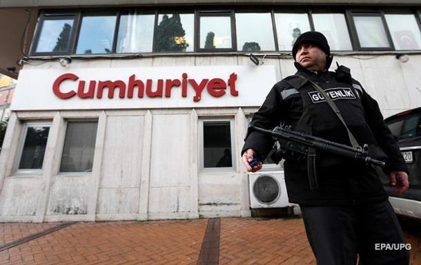 В Турции арестован главный редактор оппозиционной газеты