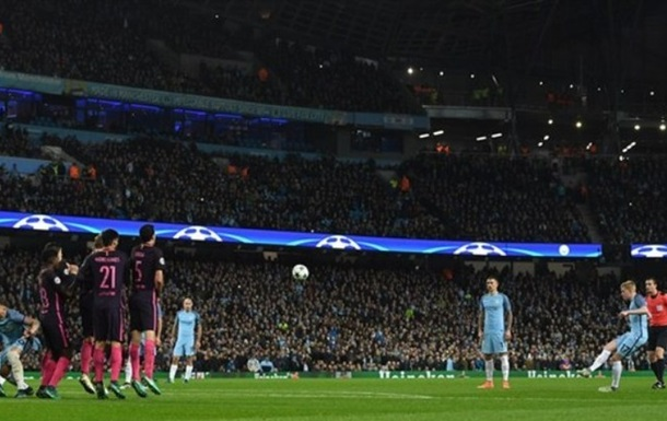 Манчестер Сити бьет Барселону, волевые победы Баварии и Арсенала
