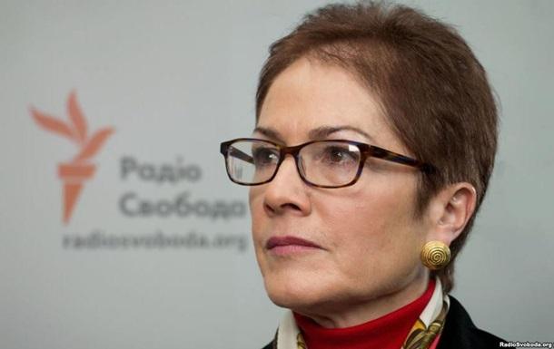 Посол США назвала условие для выборов в Донбассе