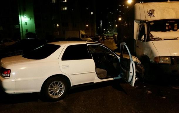 В России пьяный протаранил 17 машин