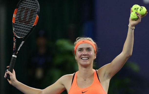 WTA Elite Trophy. Свитолина обыграла Веснину и вышла в полуфинал