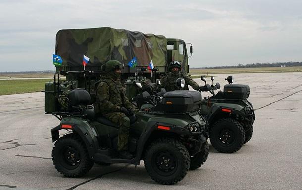 Россия перебросила в Сербию своих военных
