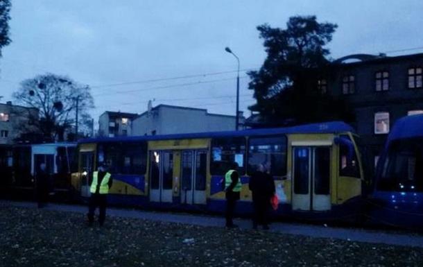 В Польше столкнулись три трамвая – ранены 19 человек