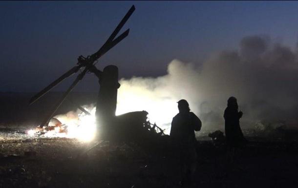 обстрел вертолета России в Сирии