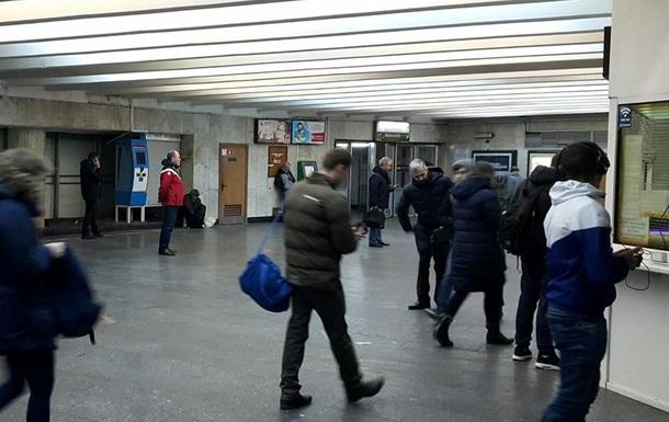 На станции метро Майдан Независимости убрали все киоски