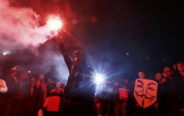 В Лондоне задержали почти 50 сторонников Anonymous