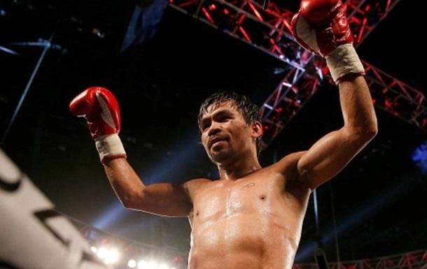 Паккьяо триумфально вернулся в ринг