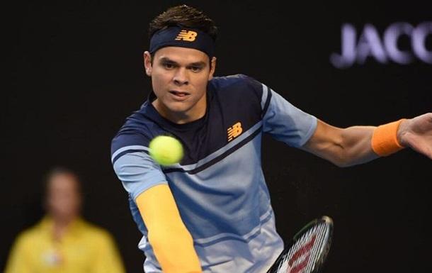 Милош Раонич стал конкурентом Энди Маррея пополуфиналу теннисного «Мастерса» встолице франции