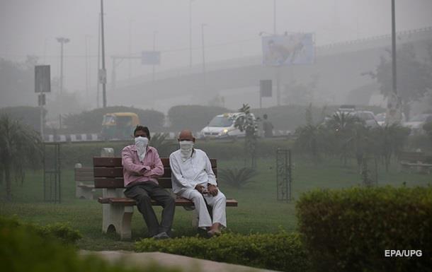 В Нью-Дели загрязненность воздуха достигла максимума за 17 лет