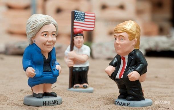 Клинтон опережает Трампа в опросах за два дня до выборов в США