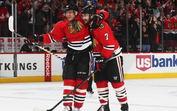 НХЛ. Победы Рейнджерс и Чикаго, Детройт уступает Эдмонтону