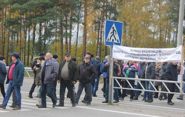 На Волыни около полусотни шахтеров объявили голодовку