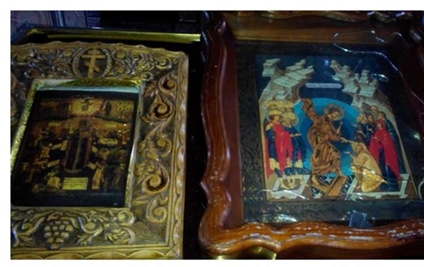 В Павлограде горел храм Московского патриархата