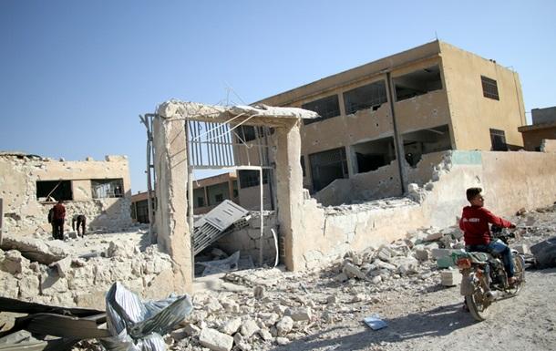 Российская авиация сбросила зажигательные бомбы на Дамаск - СМИ