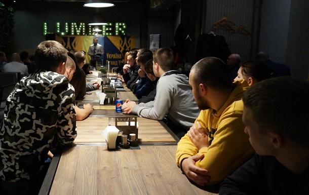 У Харківському гастро-барі «LUMBER» відбувся Український літературний вечір