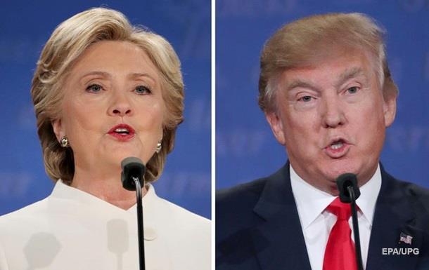 Трамп иКлинтон проголосовали навыборах президента США