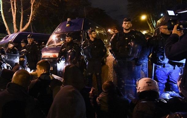 Во Франции сотни полицейских провели очередную акцию протеста