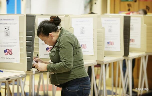 Избирательный участок на выборах в США
