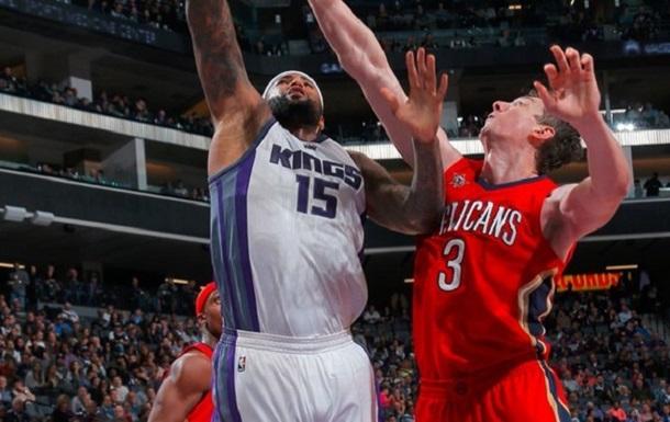 НБА. Кингз и Пеликанс начали вторую половину со второй четверти