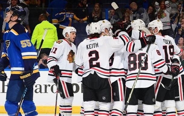 НХЛ. Очередная победа Чикаго, Коламбус побеждает в ОТ, Оттава по буллитам